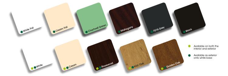 P Shapes Conservatory colour choice Peterborough