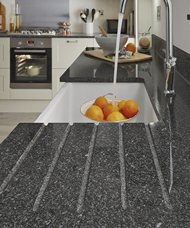 Black Granite 20mm worktop Peterborough