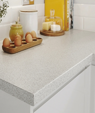 Bullnose smooth laminate 38mm worktops Peterborough