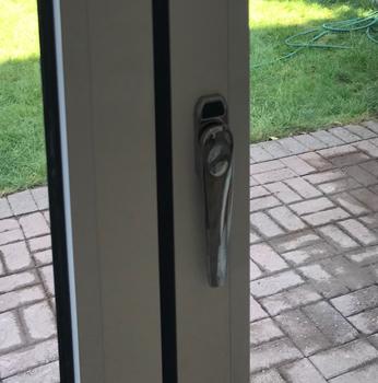 Aluminium Bi-fold door, Lock, Peterborough