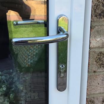 Aluminium Bi-fold door, Security Features, Peterborough