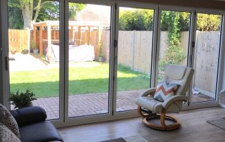 Aluminium Bi-fold door, Whittlesea, Peterborough