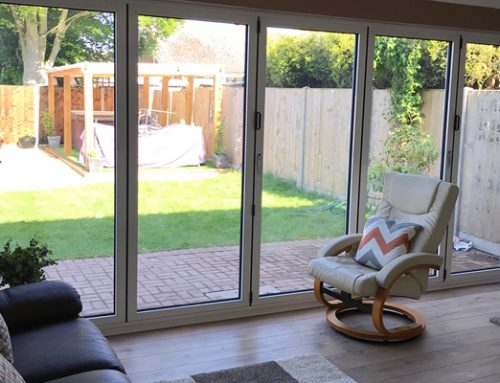 Aluminium Bi-fold door Whittlesea, Peterborough