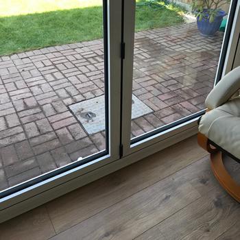 Aluminium Door Installed Peterborough