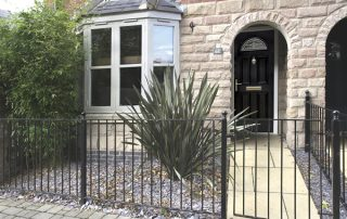 Black composite door Peterborough