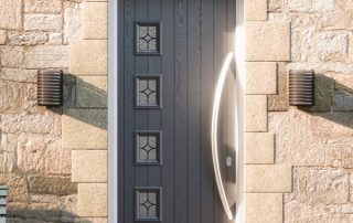 Grey Composite Doors Peterborough