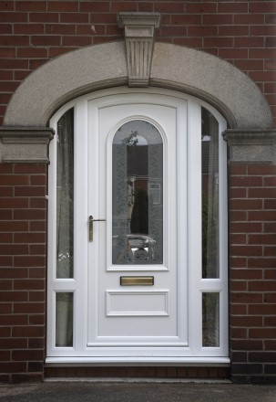 UPVC Doors with side Panels Peterborough