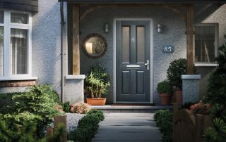 Green Composite Door Peterborough