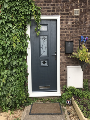 Anthracite Composite Door Peterborough