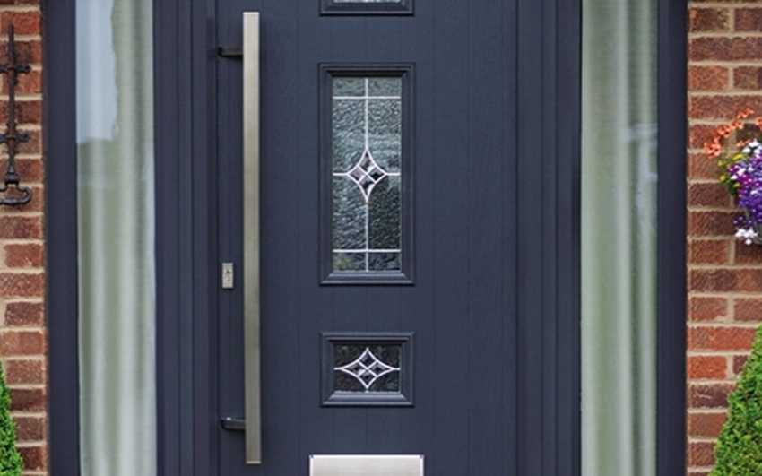 Blue Composite Door Peterborough