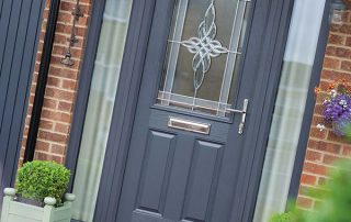 Stylish Blue Composite Doors Peterborough
