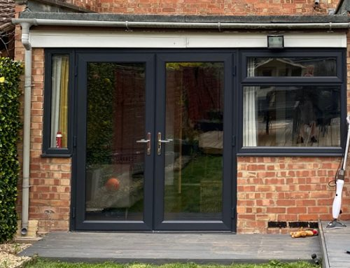 Double Glazed Grey Windows Peterborough