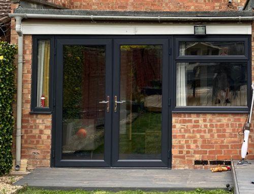 Double Glazed Grey Windows Peterborough