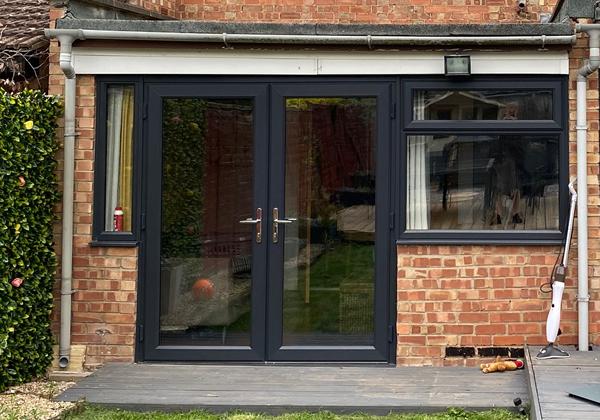 Grey Windows and Doors Peterborough